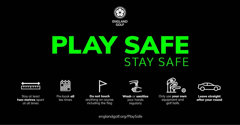Play Safe, Stay Safe at Iver Golf Club near Slough