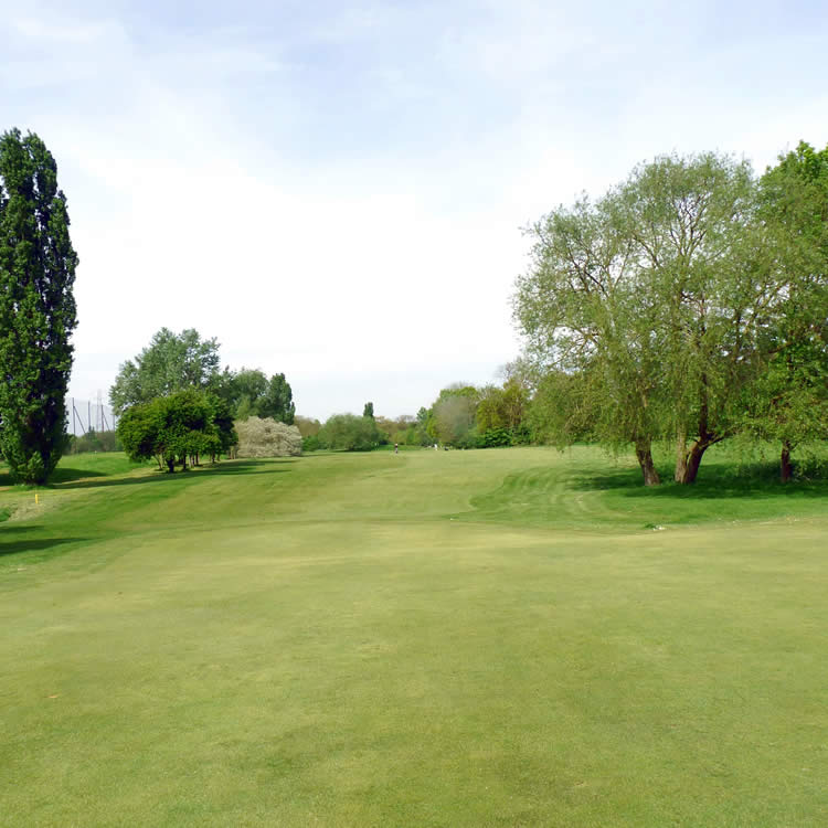 Situated west of George Green, the fairways at Iver Golf are bordered by mature trees and flowers that provide a blaze of colour in the summer.