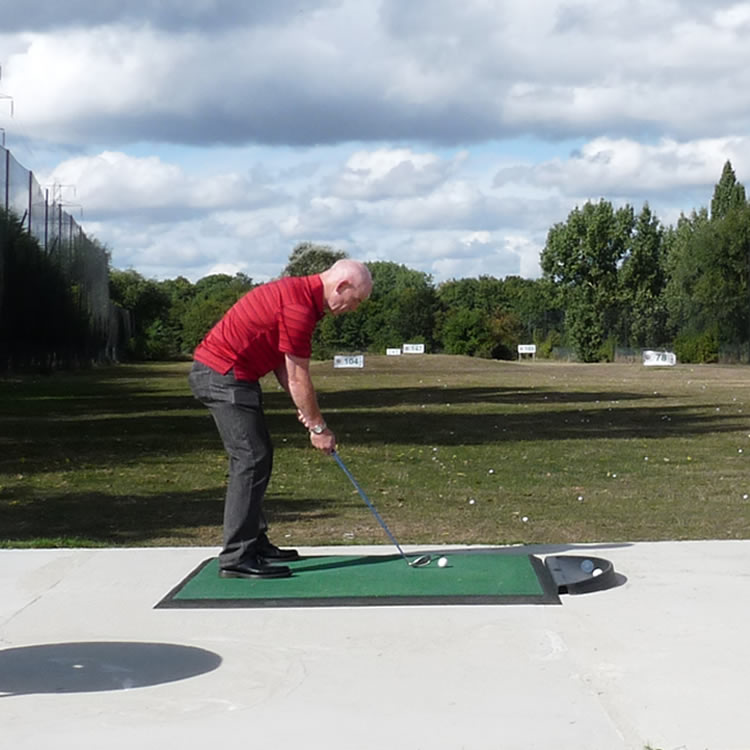 Not far from Burnham Beeches and Slough, Iver Golf Club has a 14-bay all-weather golf driving range that is open to members and guests.